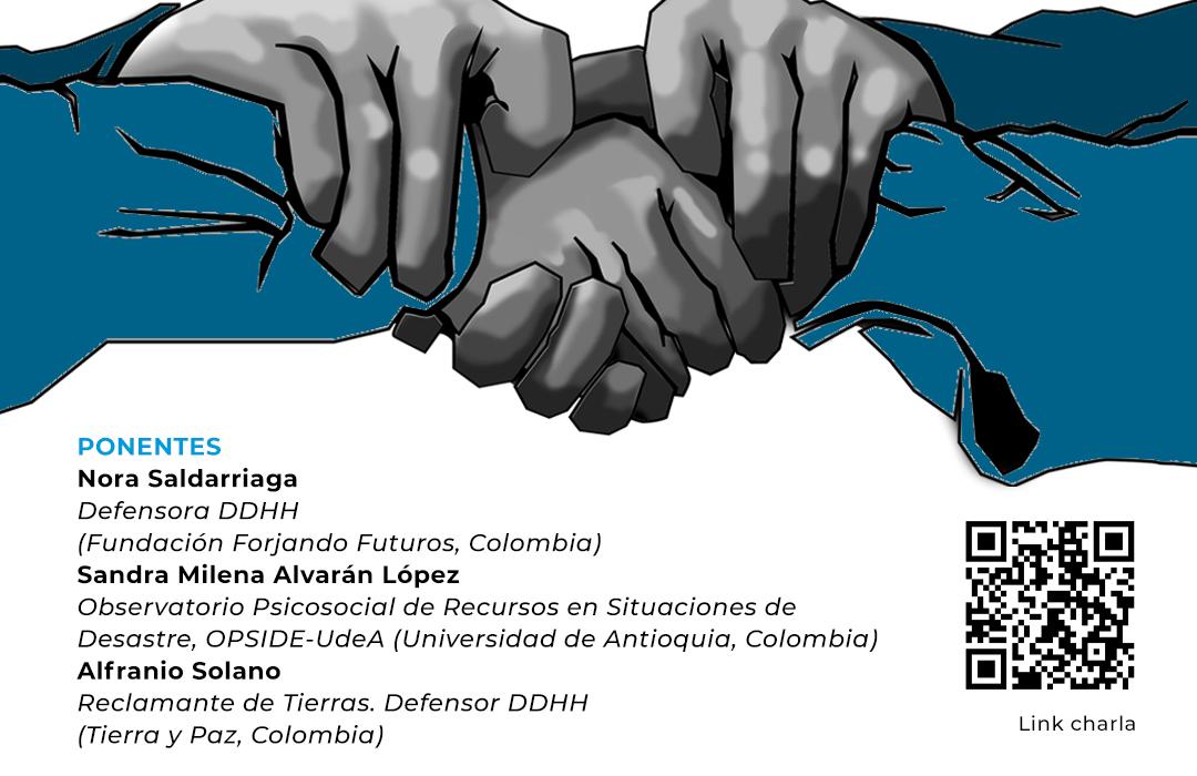 Cartel Encuentro ACPP Defensores Colombia