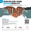 Cartel Encuentro ACPP Memoria Histórica