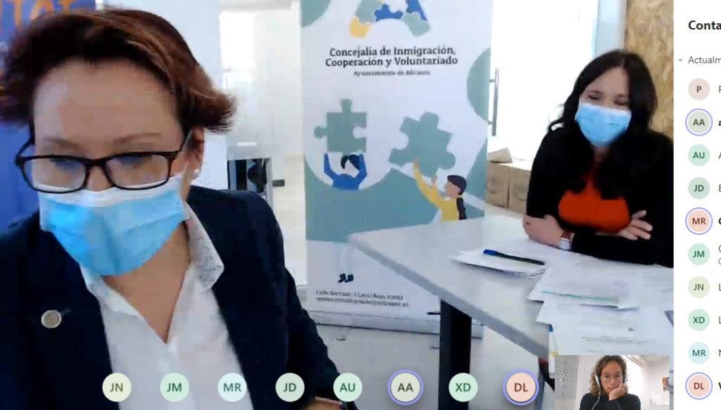 Reunión del Consejo Municipal de Alicante