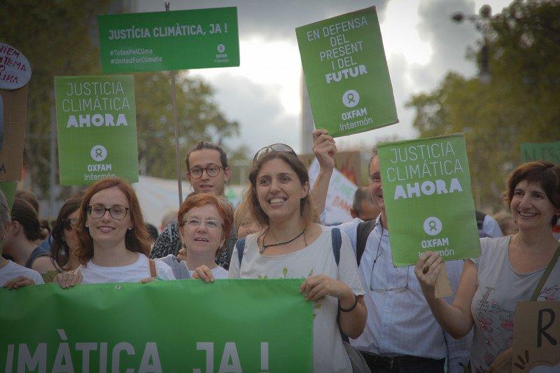 Accionistas Oxfam Intermón Cambio Climático