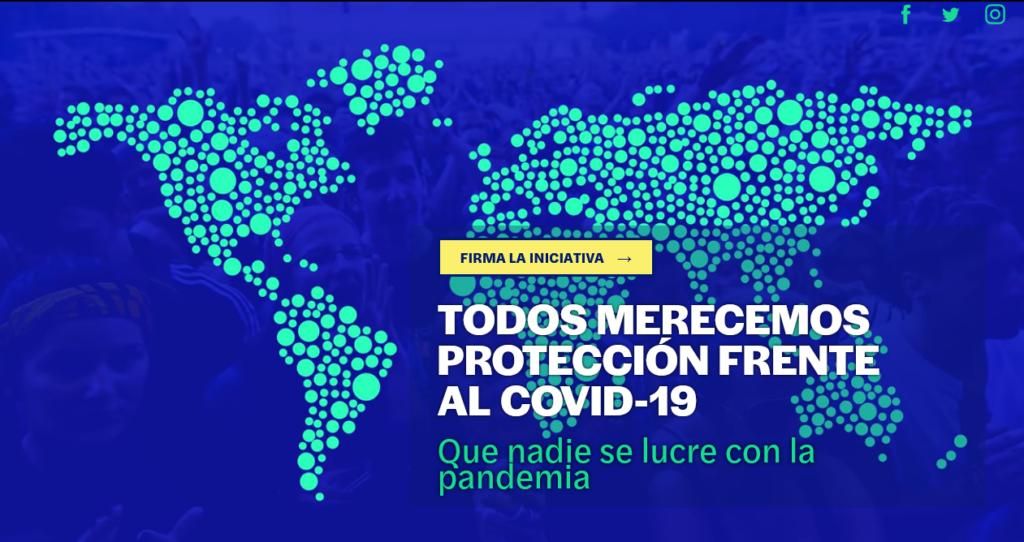 Campaña para el acceso a la vacuna contra la COVID