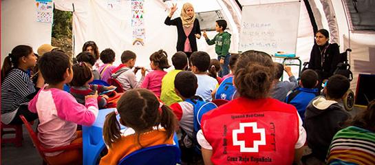 Web refugiate Cruz Roja