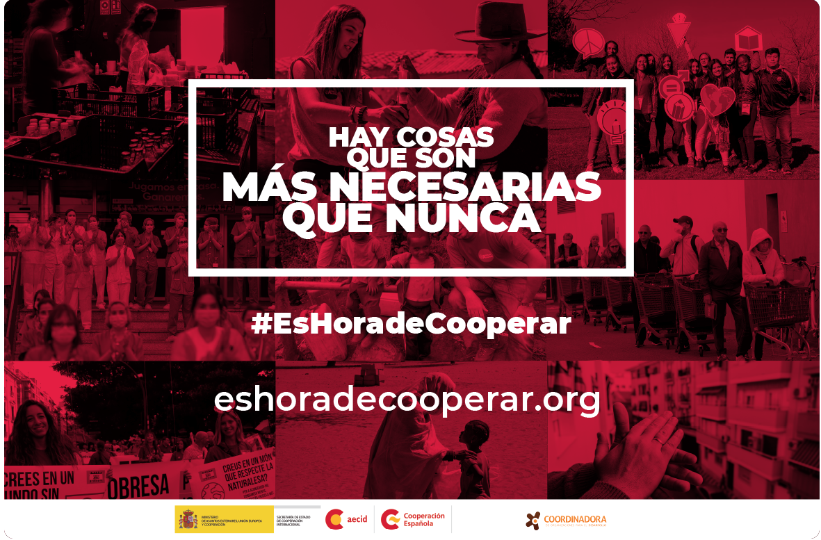Campaña EsHoraDeCooperar