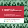 Cartel webinar consume palestina