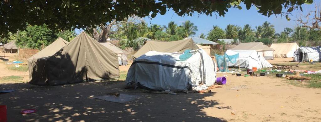 Refugiados en Cabo Delgado. Manos Unidas