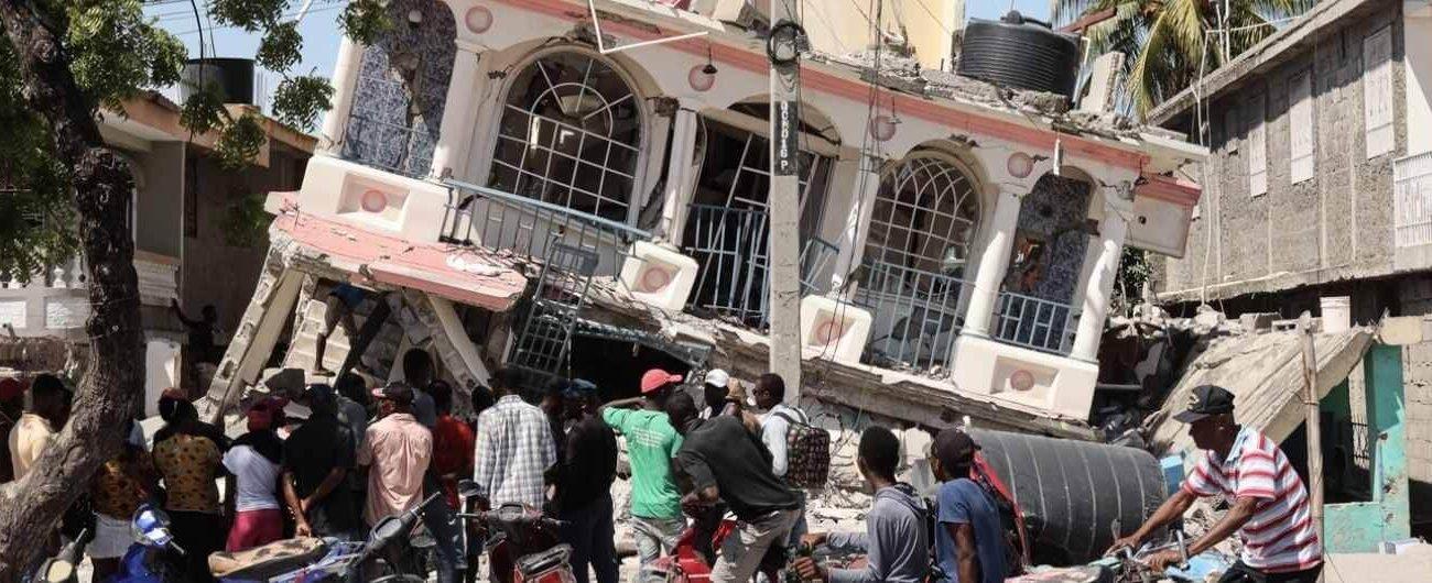 Ahití terremoto 2021. foto de Acción contra el Hambre
